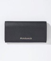 1PIU1UGUALE3/1PIU1UGUALE3(ウノピゥウノウグァーレトレ) レザーロングウォレット/長財布/500903406