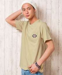 CavariA/CavariA【キャバリア】ネイティブ柄刺繍クルーネック半袖Tシャツ/500906625