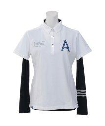 adidas/アディダス/レディス/JP ADICROSS Aロゴ レイヤードシャツ/500907973