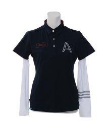 adidas/アディダス/レディス/JP ADICROSS Aロゴ レイヤードシャツ/500907974