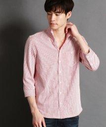 HIDEAWAYS NICOLE/イタリアンカラー7分袖カットシャツ/500879596