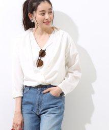 ROPE' mademoiselle/とろみサテンシャツ/500891977