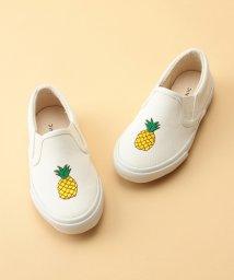 ROPE' PICNIC KIDS/【ROPE' PICNIC KIDS】パイナップル刺繍スリッポン/500908546