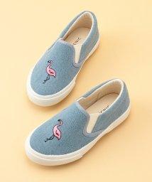 ROPE' PICNIC KIDS/【ROPE' PICNIC KIDS】フラミンゴ刺繍スリッポン/500908547