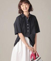 OLD ENGLAND/【WEB先行】タイプライターシャツ/500825651