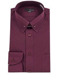 YAMAKI BRAND/COSTA VARIO 長袖 ピンカラー ワイシャツ/500904232