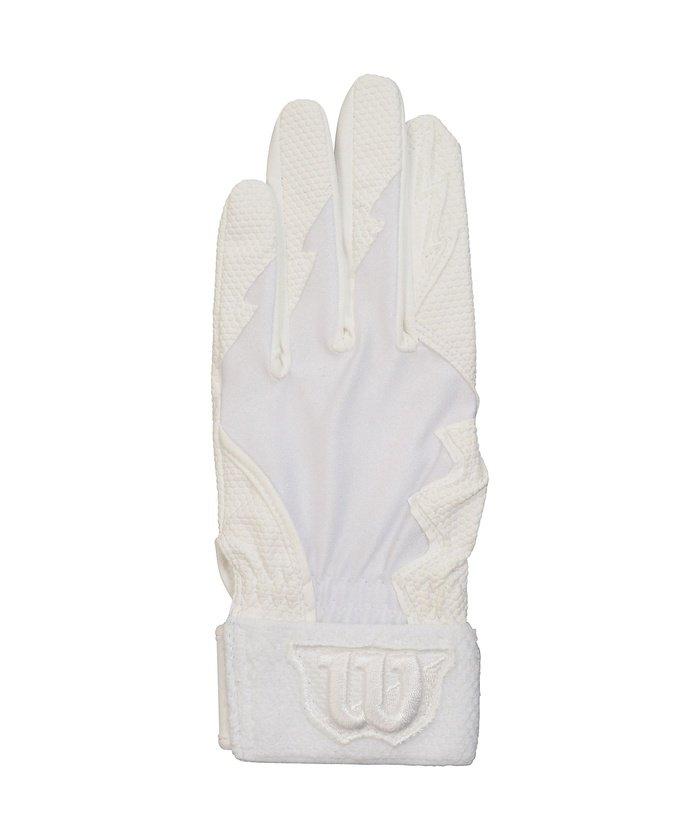 ウィルソン/キッズ/守備用手袋 0401 WH 左手用 JM