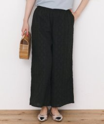 URBAN RESEARCH Sonny Label/コットンローン刺繍ワイドパンツ/500910989