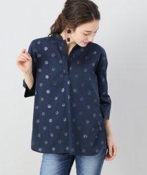 Spick & Span/【ORIAN】ノーカラースキッパーシャツ◆/500911396