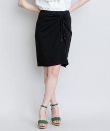LANVIN en Bleu/【セットアップ対応商品】ドロストタイトスカート/LB0005004