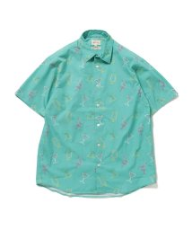 BEAMS MEN/BEAMS / ネオンプリントシャツ/500804250