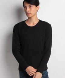STYLEBLOCK/ワッフルクルーネックサーマルカットソーロンT長袖Tシャツ/500890429