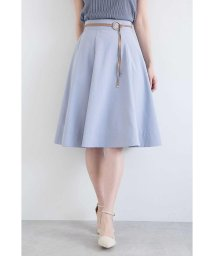 PROPORTION BODY DRESSING/タイプライターベルト付きフレアースカート/500894619