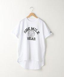 coen/【1M】ドライカレッジロゴTシャツ/500898482