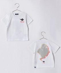 XLARGE KIDS/ランプ&アイコンプリントTシャツ/500899149