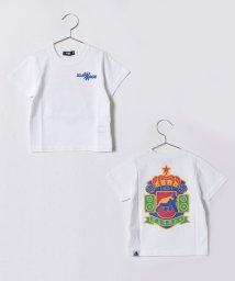 XLARGE KIDS/エンブレムバックプリントTシャツ/500899150