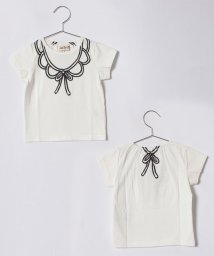 Love&Peace&Money/飾り襟プリントTシャツ/500900756