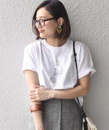 SHIPS WOMEN/Sakai Yoko:【SHIPS別注】Tシャツ/500911779