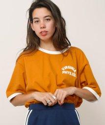 DOUBLE NAME/リンガーTシャツ/500911882