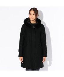 SANYO(WOMEN'S)/【Rain Wool】Super180'Sフーデッドダウンコート/500913586