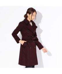 SANYO(WOMEN'S)/【Rain Wool】Super180'Sビーバートレンチコート/500913589