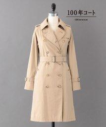 SANYO(WOMEN'S)/<100年コート Aged>ロングトレンチコート/500913751