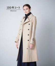 SANYO(WOMEN'S)/<100年コート>ロングトレンチコート三陽格子/500913754