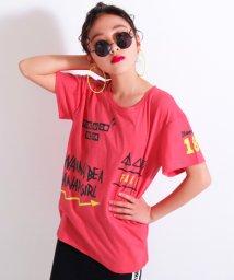 ANAP GiRL/メッセージプリントBIGTシャツ/500905616
