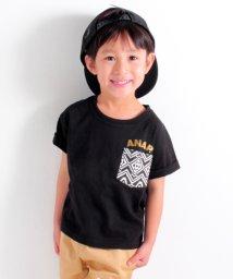 ANAP KIDS/ポケットオルテガTシャツ/500905636