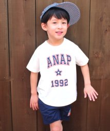 ANAP KIDS/カレッジロゴBIGTシャツ/500905641