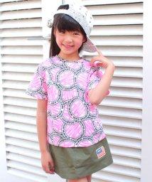 ANAP KIDS/サークルロゴ柄Tシャツ/500905642