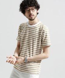 nano・universe/半袖ボーダーインナーTシャツ/500909685