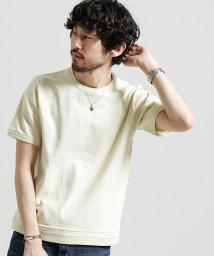 nano・universe/度詰めピグメントTシャツ/500909686