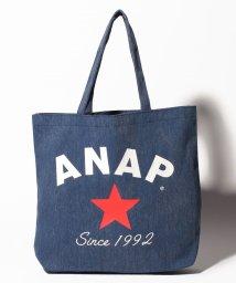 ANAP/ANAPロゴデニム風BAG/500909837