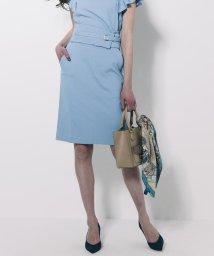 Viaggio Blu/【セットアップ対応】コルセットベルト付きパールニットタイトスカート/500914977