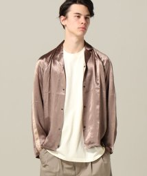 JOINT WORKS/SASQUATCHFABRIX NOTCHED CL SATIN SHIRT/500916322