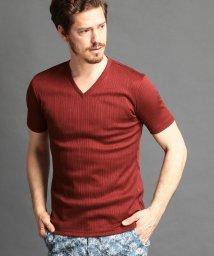 MONSIEUR NICOLE/半袖VネックTシャツ/500891686