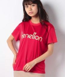 BENETTON (women)/ベネトンBIG半袖ラッシュTシャツ?ラッシュガード(UV加工UPF50+)/500894716