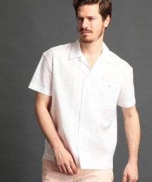 MONSIEUR NICOLE/サッカー地ワンナップカラーシャツ/500904643
