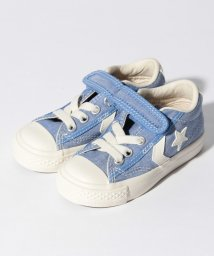 First star CONVERS/CONVERSE / キッズ キャンバス シェブロンスター N V1 / KIDS CSN V1(BL 15.0~22.0cm)/500909905