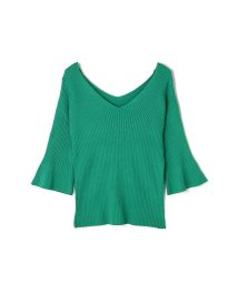 PROPORTION BODY DRESSING/《BLANCHIC》オフショルVニット/500917877