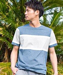 VICCI/VICCI【ビッチ】ランダムボーダークルーネック半袖Tシャツ/500920820