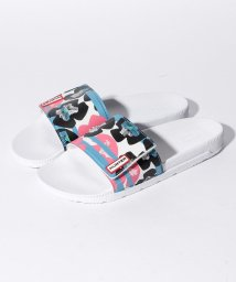 HUNTER/ORG FLORAL STRIPE ADJ SLIDE/500900851