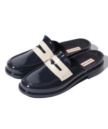 HUNTER/BACKLESS GLOSS PENNY LOAFER/500900854