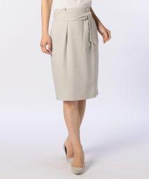NOLLEY'S/ストレッチスラブリボンスカート/500908331