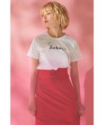 PROPORTION BODY DRESSING/《EDIT COLOGNE》ビジューロゴTシャツ/500917876