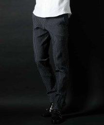 MICHEL KLEIN HOMME/残りわずか!【オンライン限定プライス】キューブドビーストレッチパンツ/500921167