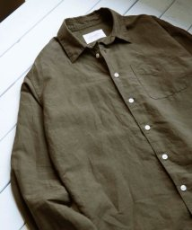 URBAN RESEARCH DOORS/綿麻Long-Sleeve Shirts/500921736