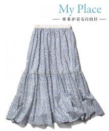 JIYU-KU /【亜希さん着用】Antoinette Poisson BOTANIQUE スカー/500923226