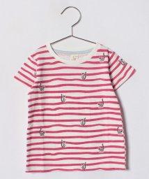 LAGOM/ワオキツネザルボーダーTシャツ/500892552